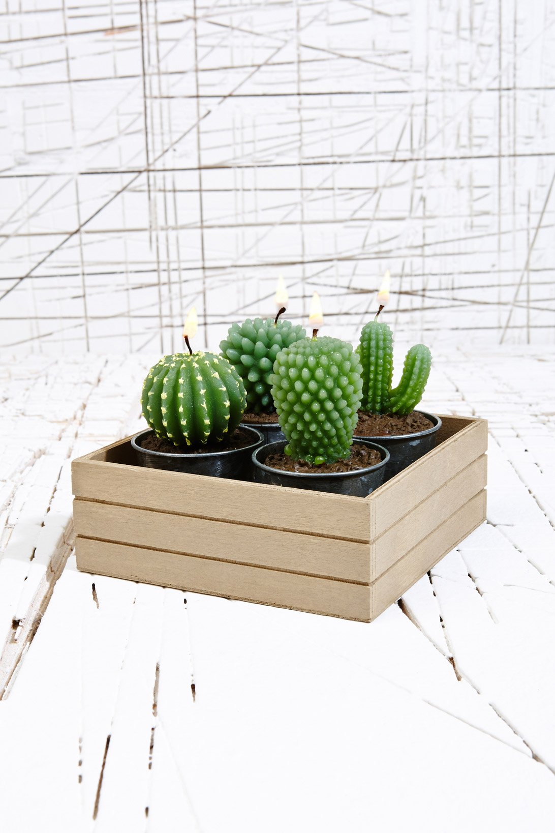Cacti Candle Set, £5, Urban Outfitters