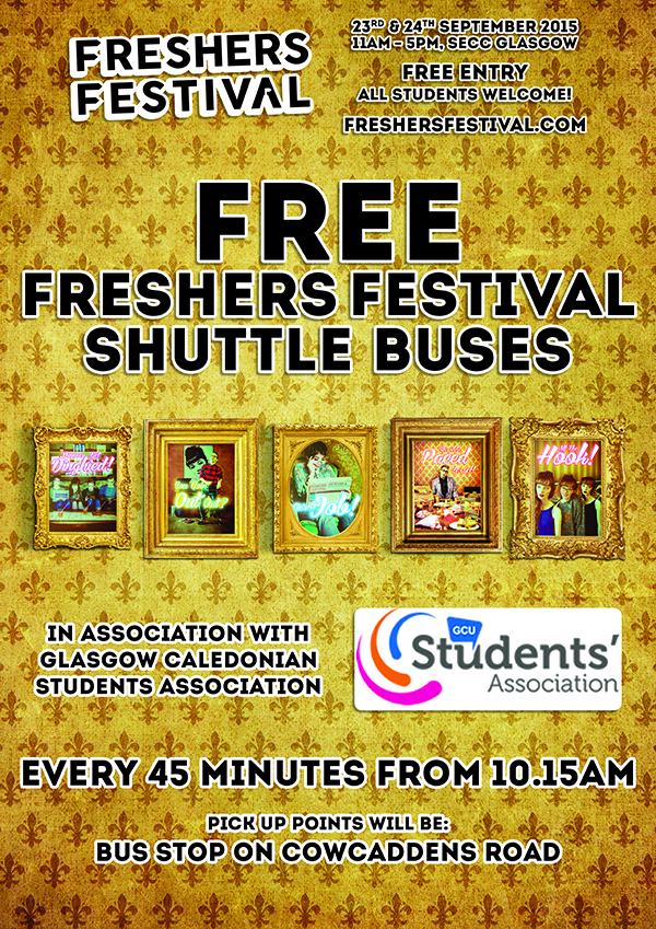GCUSA freshers fest bus time table