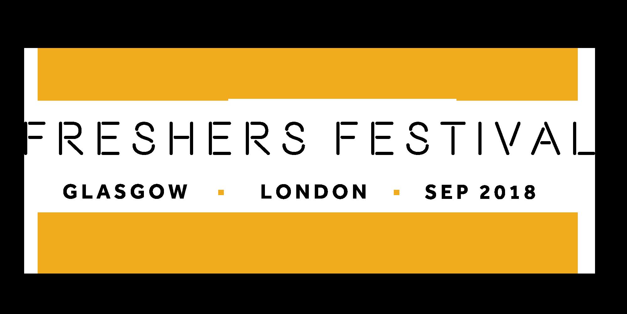 FRESHERS Festival Logo 2018