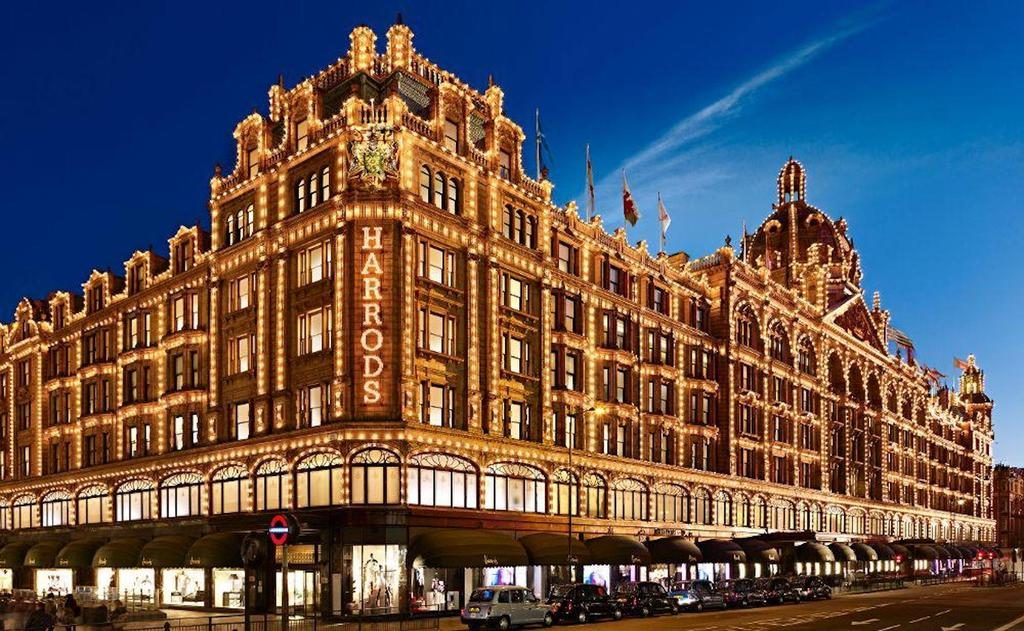 Harrods free london shopping