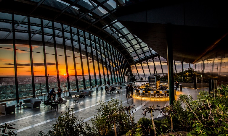 London skygarden free instagram spot